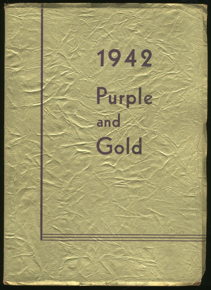 The 1942 Purple and Gold: Camden High School