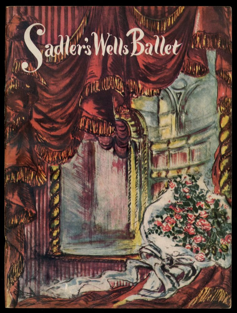 Souvenir Book for the Sadler's Wells Ballet First American Coast-To-Coast Tour 1950-1951