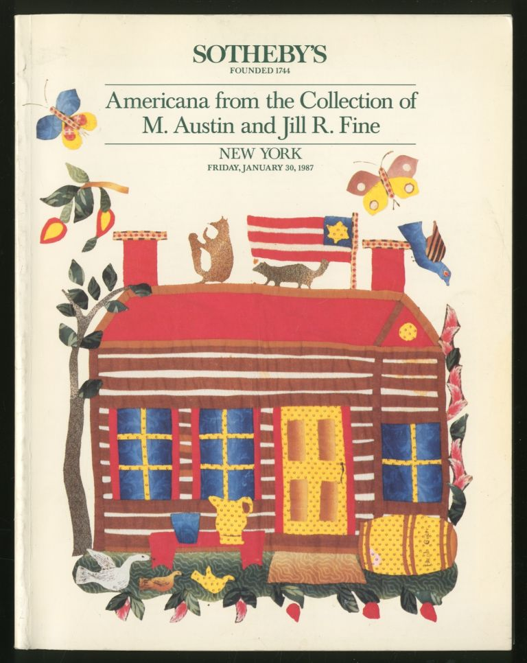 Americana from the Collection of M. Austin and Jill R. Fine: January 30, 1987