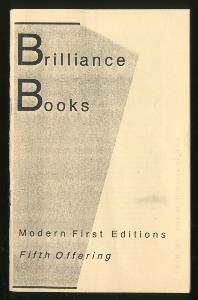 Brilliance Books: Modern First Editions, Fifth Offering