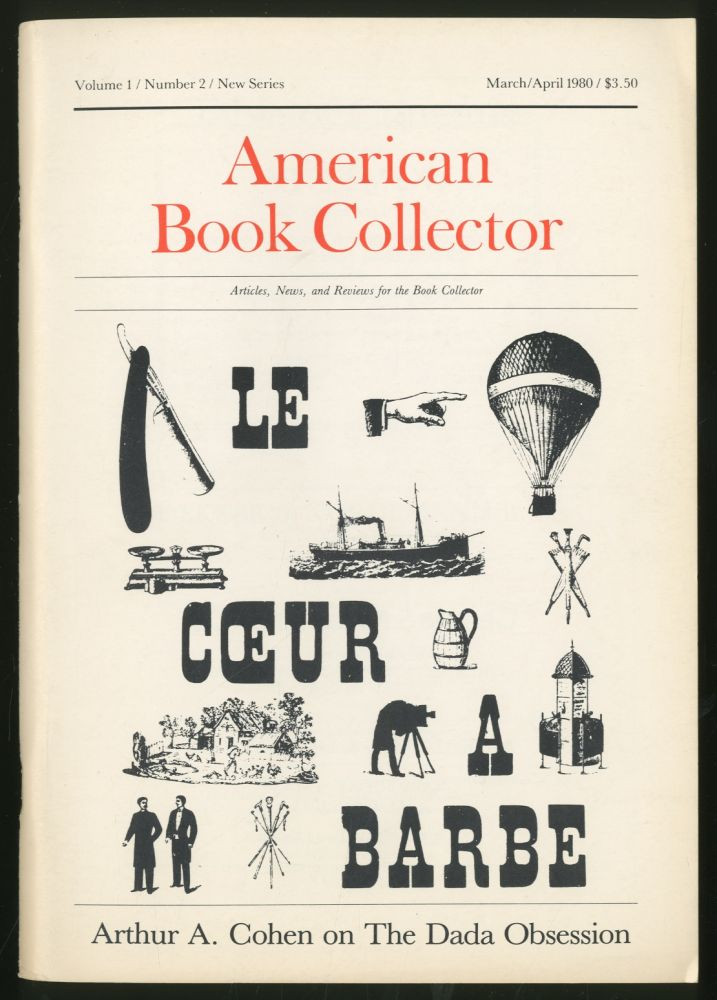 American Book Collector Volume 1 Number 2 New Series March/April 1980