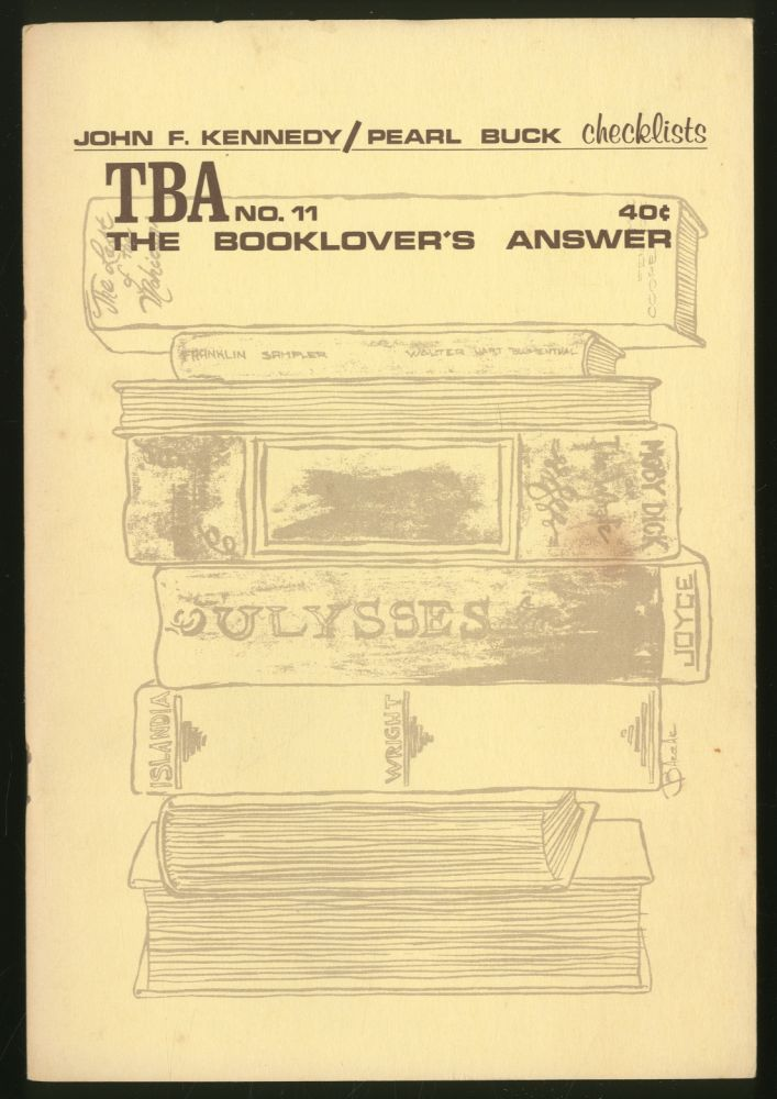 The Booklover's Answer: #11, May-June 1964