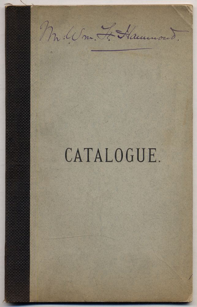 Catalogue of the Brooklyn Eagle Library