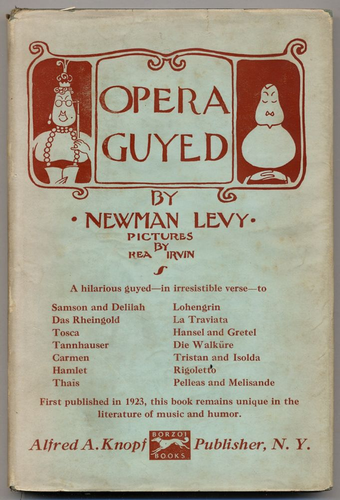 Opera Guyed. Newman LEVY.