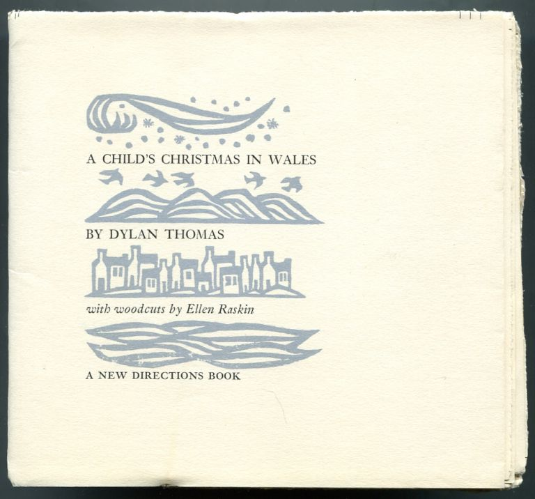 A Childs Christmas In Wales.A Child S Christmas In Wales By Dylan Thomas On Between The Covers