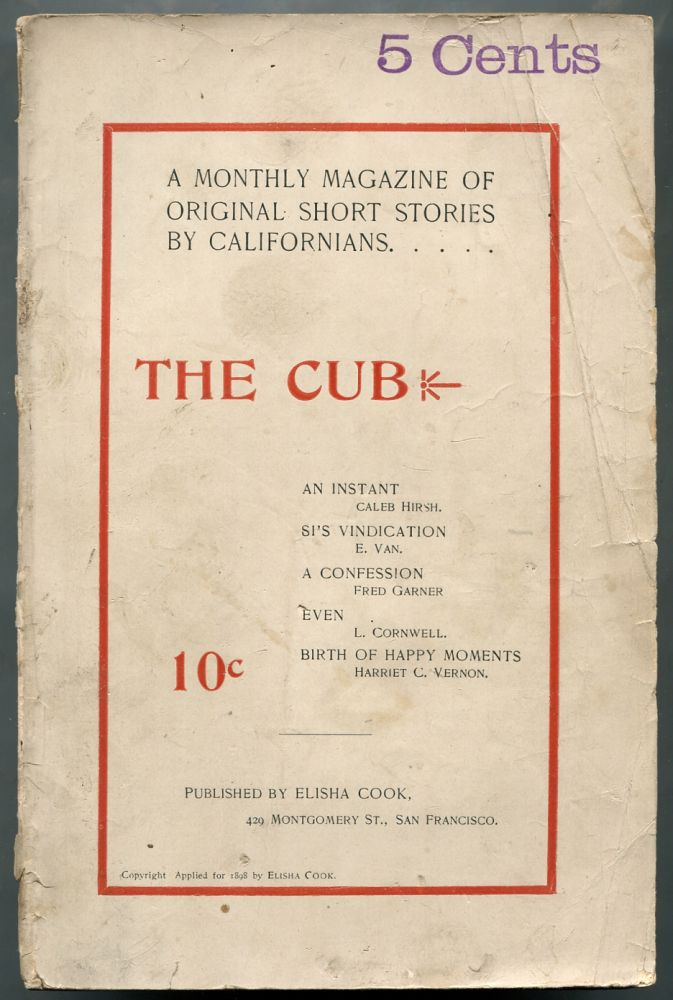 The Cub – Number 1, Volume 1, February 1898