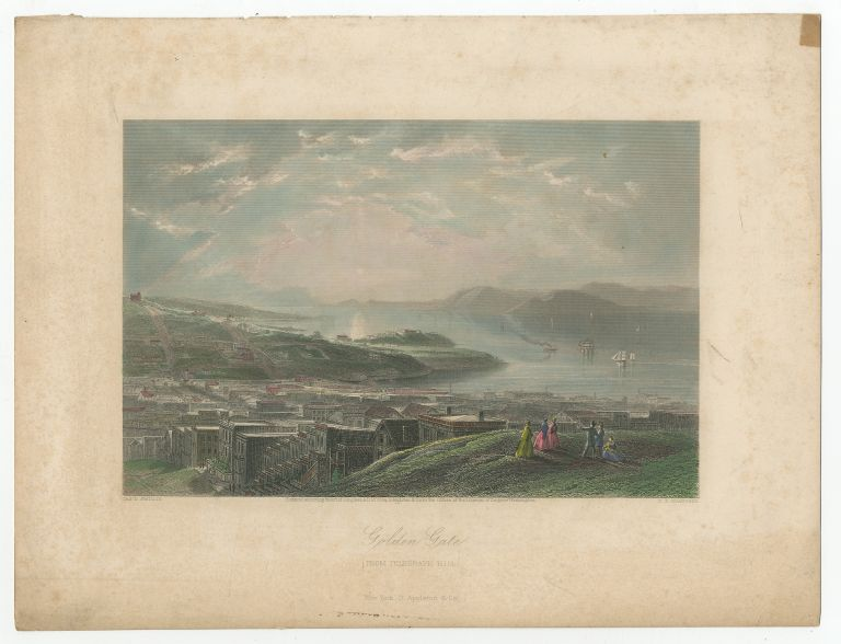 Print]: Golden Gate from Telegraph Hill