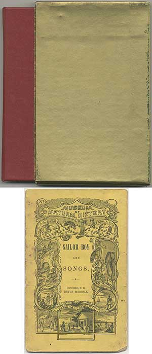 Sailor Stories and Songs [cover title]: Sailor Boy and Songs. William S. CARDELL.
