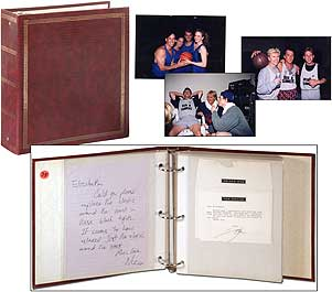 Tom Cruise's 30th Birthday Basketball Party Scrapbook