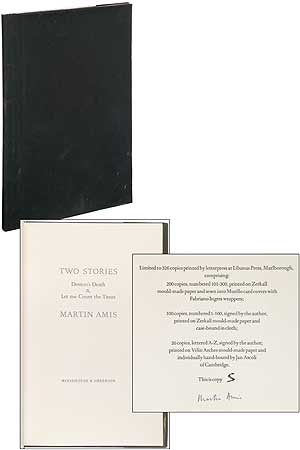 Two Stories: Denton's Death & Let Me Count the Times. Martin AMIS.