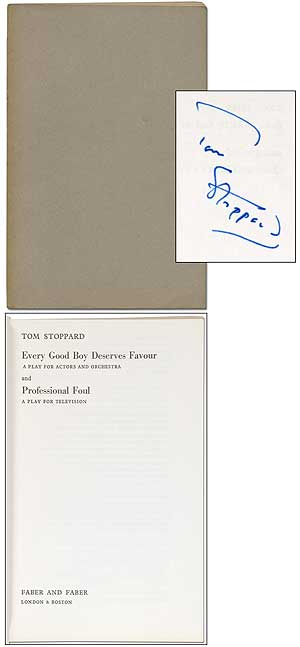 Every Good Boy Deserves Favor: A Play for Actors and Orchestra and Professional Foul: A Play for Television. Tom STOPPARD.