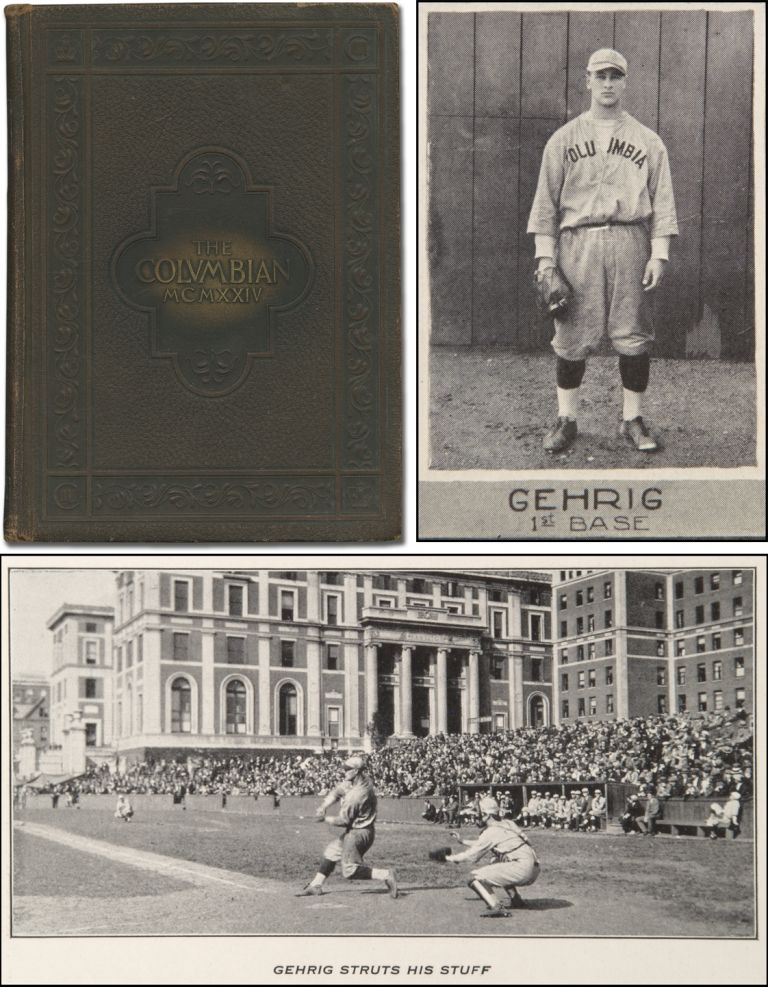 [College Yearbook]: The 1924 Columbian. Lou GEHRIG, F. C. BOOSS, ed.
