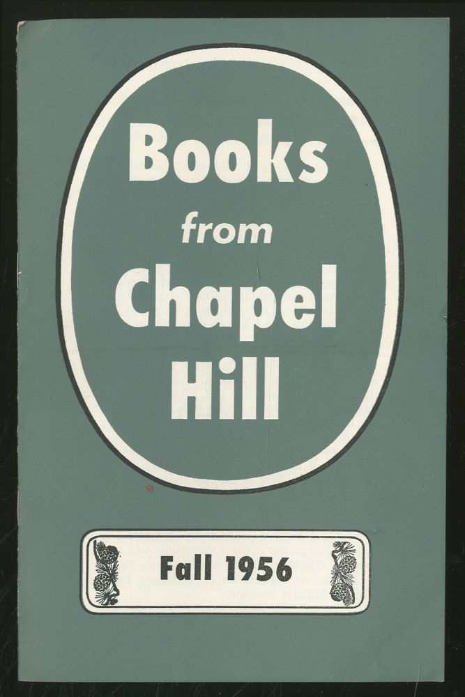 Books from Chapel Hill - Fall 1956