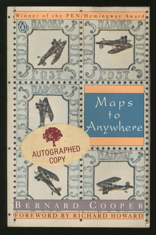 Maps to Anywhere. Bernard COOPER.