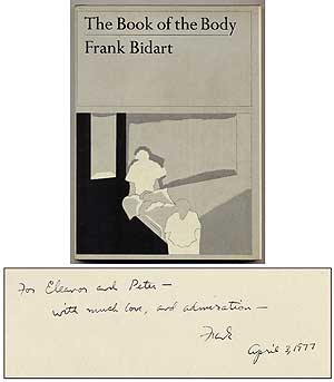 The Book of the Body. Frank BIDART.