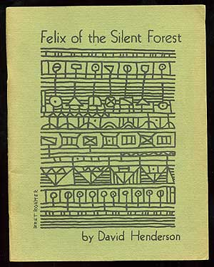 Felix of the Silent Forest. David HENDERSON.
