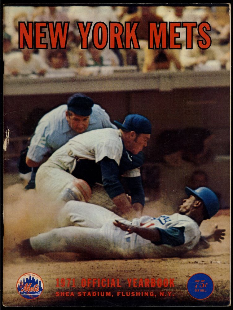 New York Mets Official 1971 Yearbook