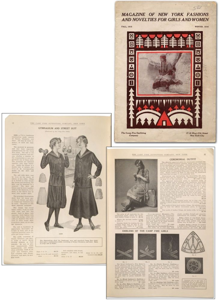 Magazine of New York Fashions and Novelties for Girls and Woman --- Fall 1915 / Winter 1916