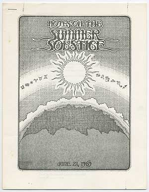 Notes on the Summer Solstice [Brain of Pooh Newsletter #1]
