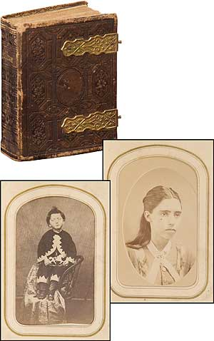 [Photo Album]: Victorian Photo Album Related to the Ancestors of Barack Obama. Barack OBAMA.