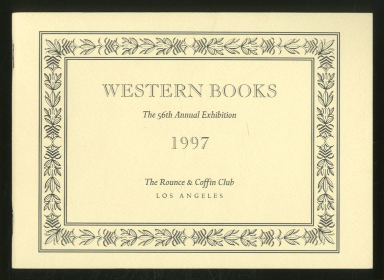 The 56th Annual Western Books Exhibition