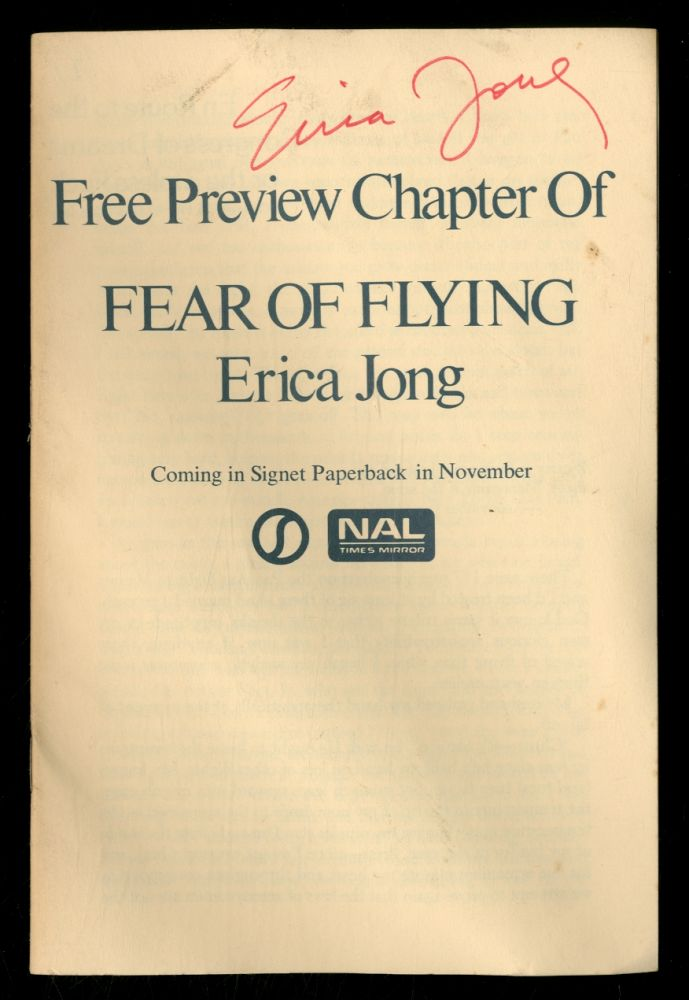Free Preview Chapter of Fear of Flying. Erica JONG.