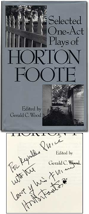 Selected One-Act Plays of Horton Foote