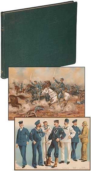 The United States Army and Navy, Our Country's Defensive Forces in War and Peace, Their Histories, From the Era of the Revolution to the Close of the Spanish-American War; With Accounts of Their Organization, Administration, and Duties, With Appendices
