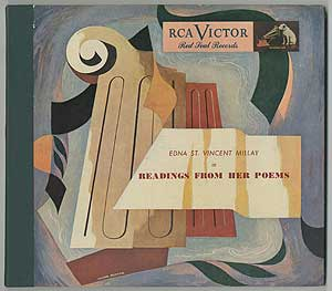 [Vinyl Record]: Edna St. Vincent Millay in Readings from Her Poems