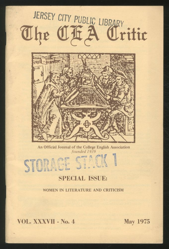 The CEA Critic: An Official Journal of The College English Association: May 1975, Volume 37, Number 4