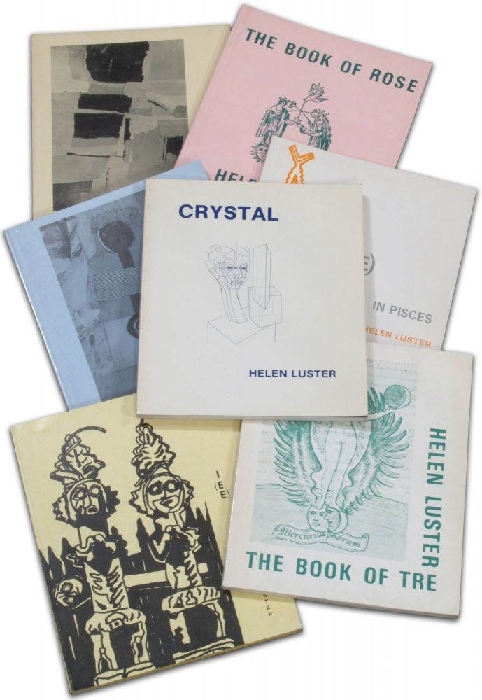 I(EE): Book 1 in Pisces; Book 2: The Yellow Christmas; Book 3: Bell's Book; Book 4: The House of Di; Book 5: The Book of Tre; Book 6: The Book of Rose; Book 7: Crystal. [Seven volumes, complete]. Helen LUSTER.