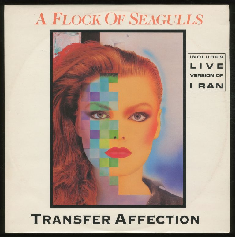 [Vinyl Record]: Transfer Affection. A Flock of Seagulls.