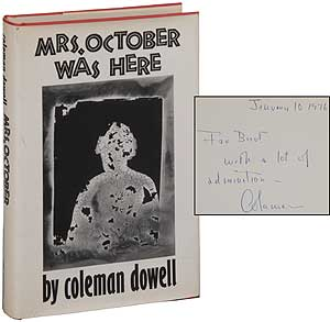 Mrs. October Was Here. Coleman DOWELL.