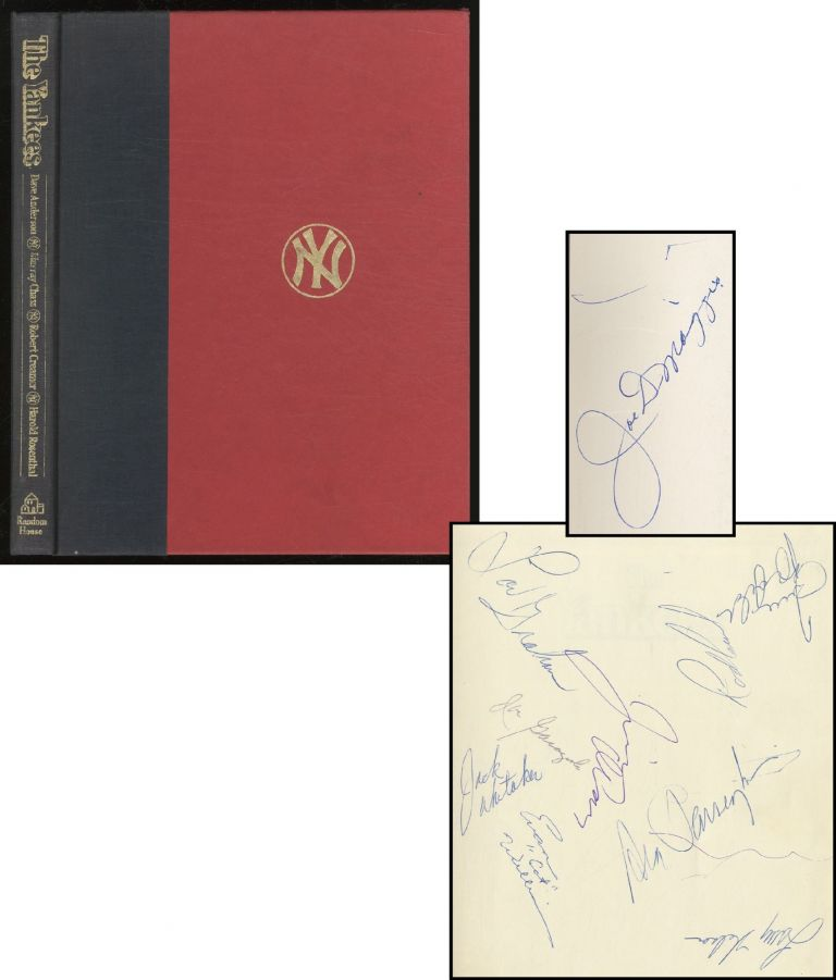 The Yankees. The Four Fabulous Eras of Baseball's Most Famous Team. Dave ANDERSON, Robert Creamer, Murray Chass, Robert Rosenthal.