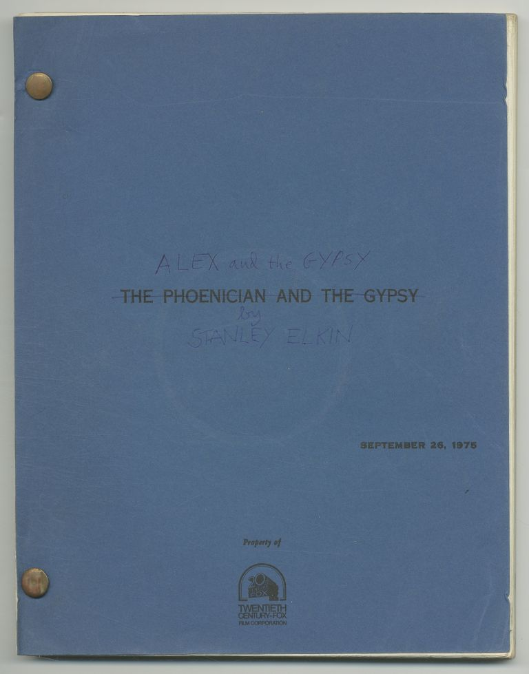 Screenplay]: The Phoencian and the Gypsy / Alex and the Gypsy