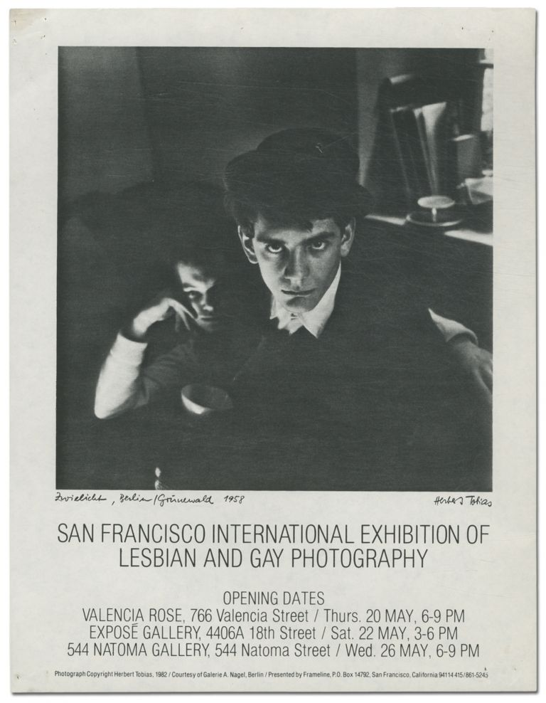 [Flyer]: San Francisco International Exhibition of Lesbian and Gay Photography