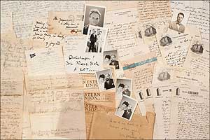 Archive]: A Collection of Letters and Confidential Correspondence addressed to Yulla Lipchitz...