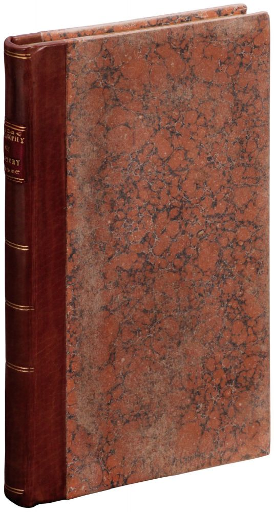 The Philosophy of History (Proof Copy). J. W. GILBART, James William.