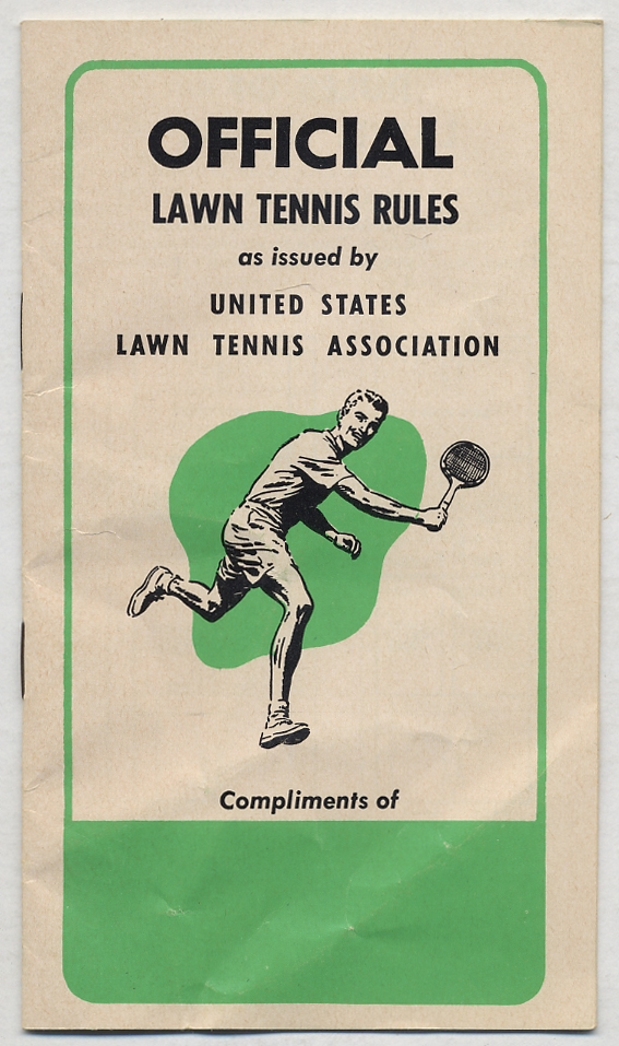 Official Lawn Tennis Rules