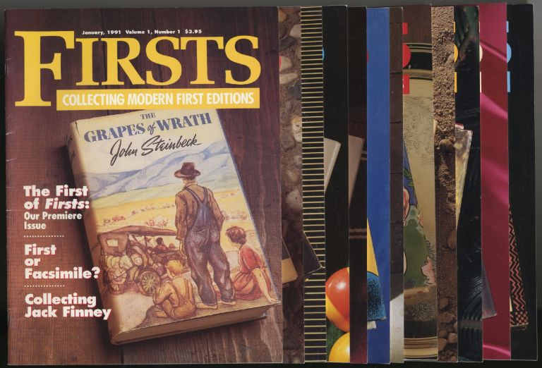Firsts: Collecting Modern First Editions: [Twelve Issues]: January-December 1991, Volume 1, Numbers 1-12