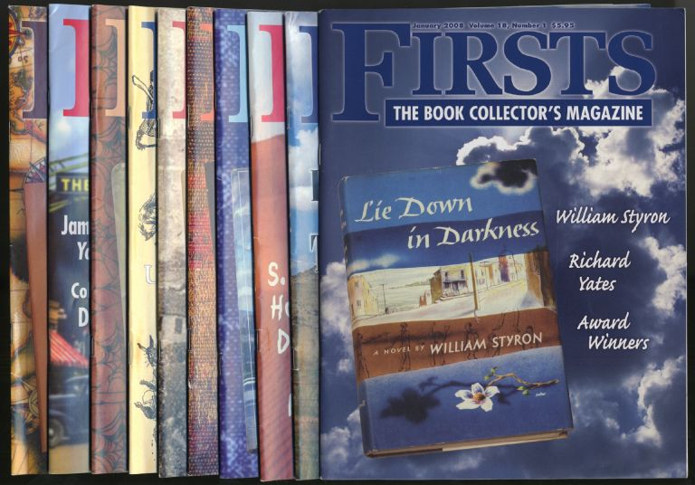 Firsts: The Book Collector's Magazine: [Complete Run, Ten Issues]: January-December 2008, Volume 18, Numbers 1-10