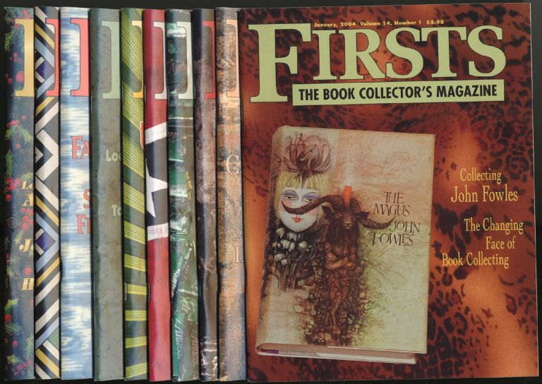 Firsts: The Book Collector's Magazine: [Complete Run, Ten Issues]: January-December 2004, Volume 14, Numbers 1-10