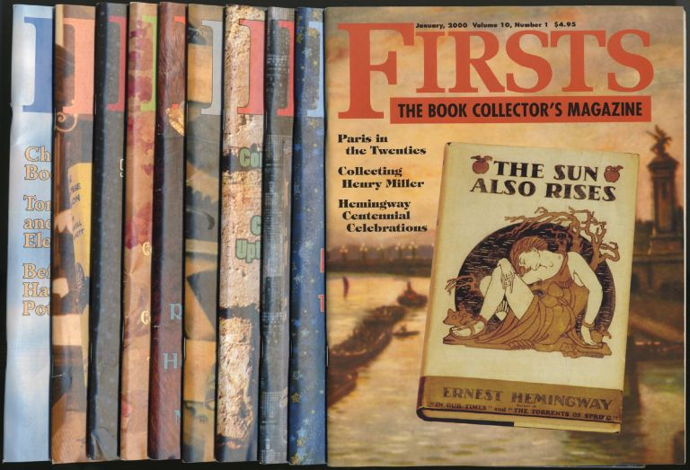 Firsts: The Book Collector's Magazine: [Incomplete Run, Ten Issues]: January-December 2000, Volume 10, Numbers 1-10