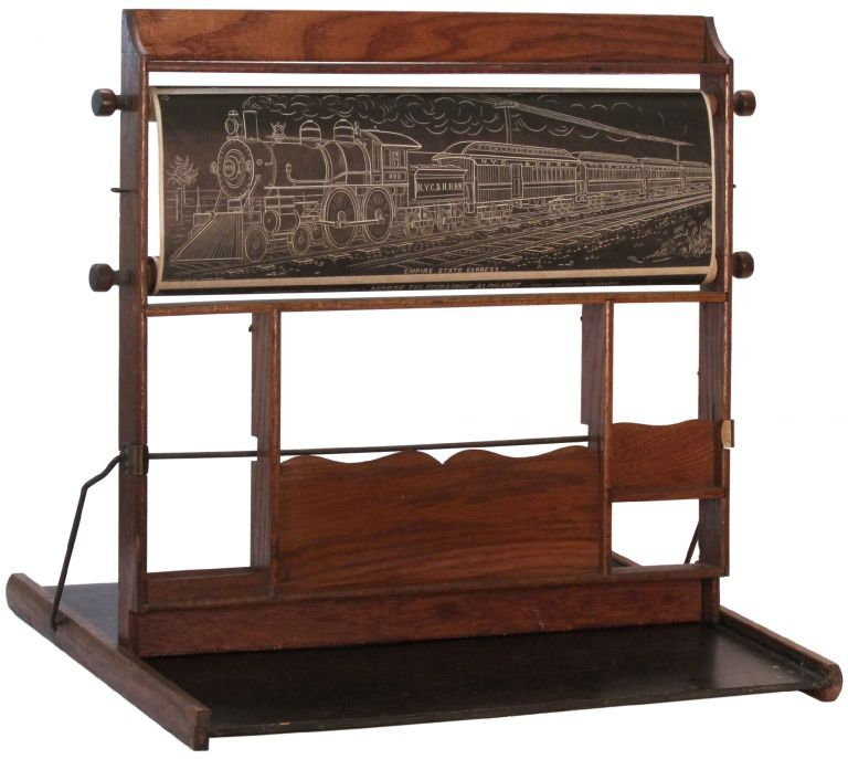 Chautauqua Industrial Art Desk