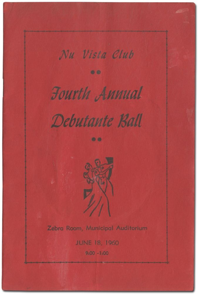 [Program]: Nu Vista Club Presents Its Fourth Annual Debutante Ball