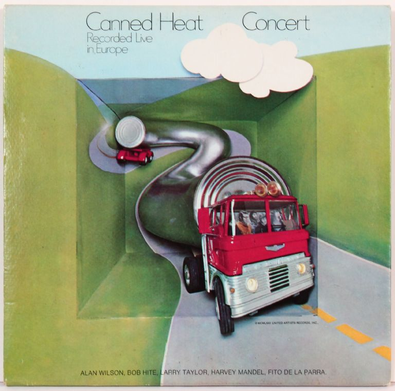 [Vinyl Record]: Canned Heat Concert Record Live in Europe. Canned Heat.
