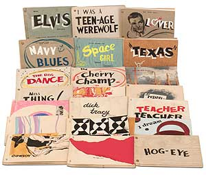 21 Hand Illustrated 1950s Vernacular Gay Chap Books