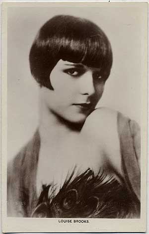 "Vintage ""Picturegoer"" Series Post Card of Louise Brooks"