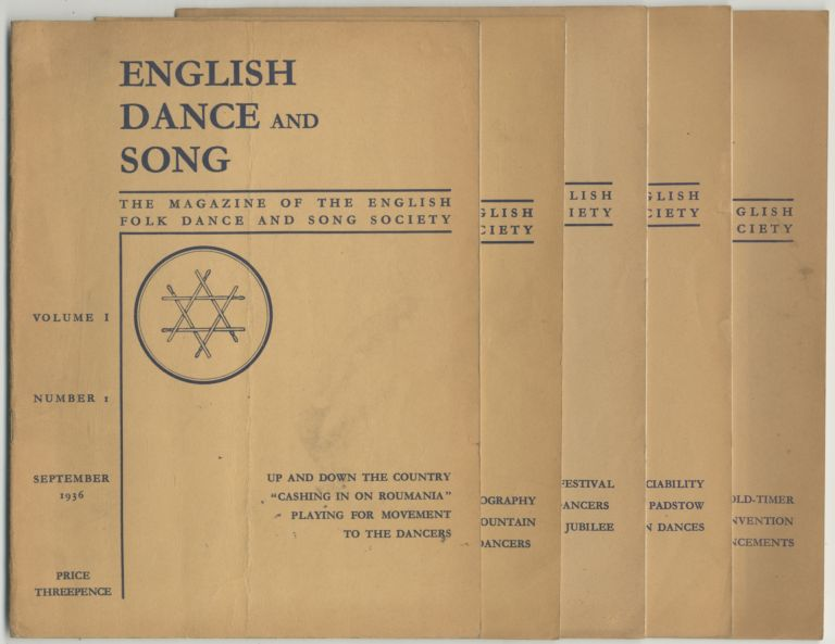 [Magazine]: English Dance and Song: The Magazine of the English Folk Dance and Song Society. 1936-1937