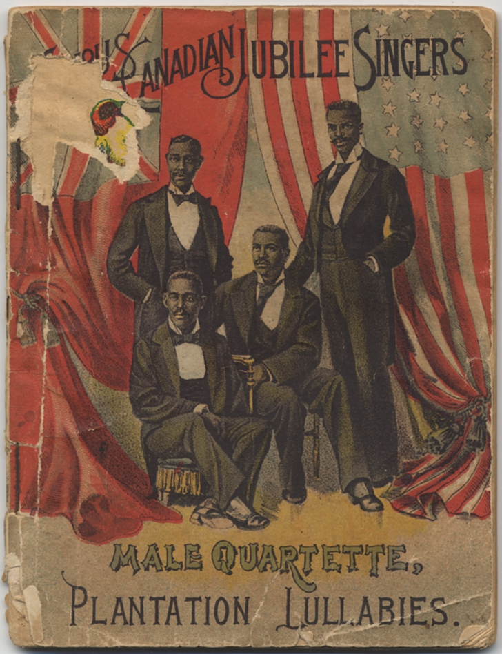 Songs Sung by the Famous Canadian Jubilee Singers, the Royal Paragon Male Quartette and Imperial...
